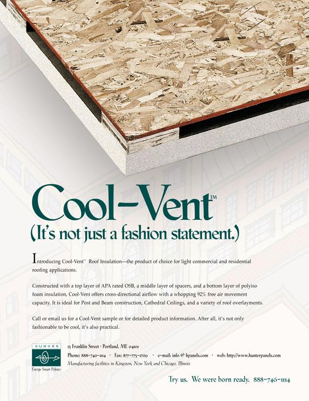 Cool Vent print ad