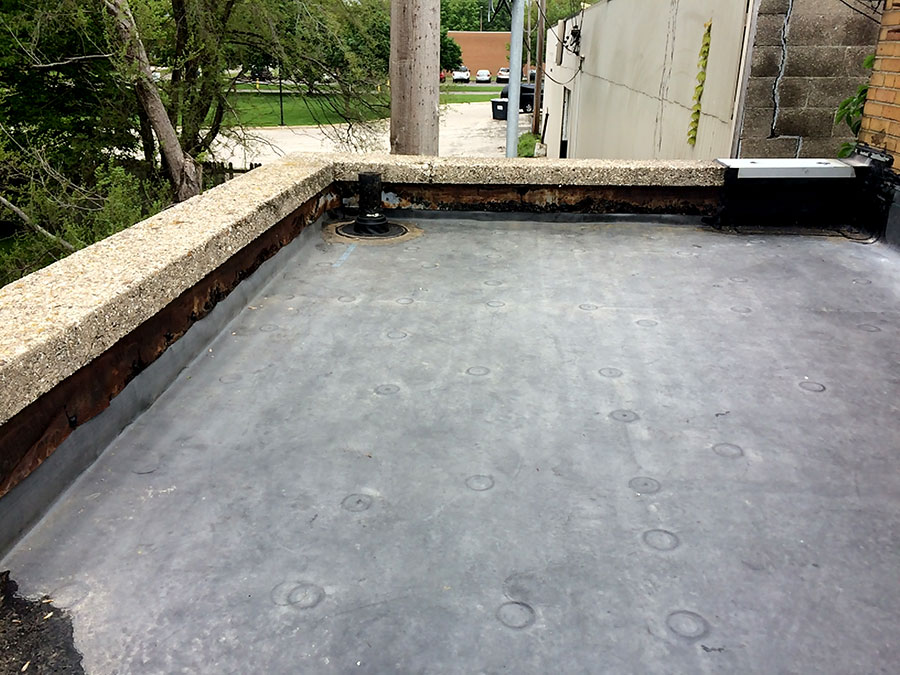 EPDM rubber foofing
